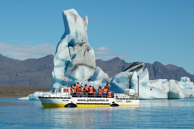 Jokulsarlon Glacial Lagoon Full-Day Tour from Reykjavik