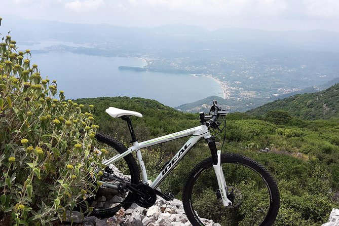 Corfu from Above: Mountain Biking or Hiking at the Highest Peak of Corfu