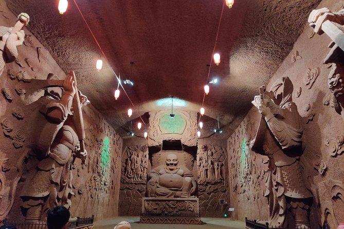 Leshan Giant Buddha and Oriental Buddha park one day tour
