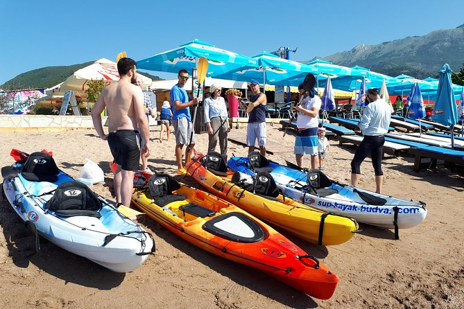Kayak & SUP Rental in Budva Montenegro