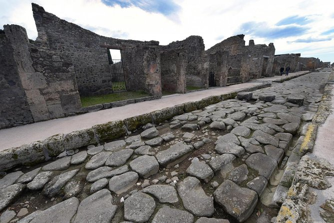 Pompeii Guided Tour & Wine tasting + Easy lunch - Entrance fee included