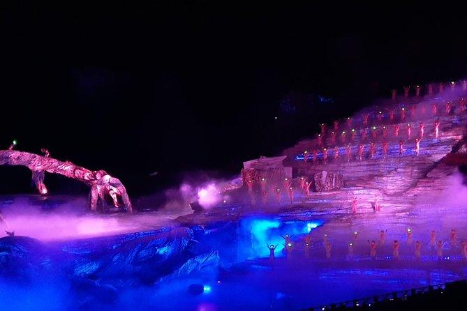 Tianmen Fox Fairy Show with Round way Private car from ZHANGJIAJIE Hotel