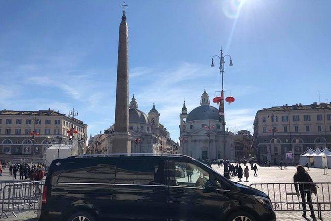 Private transfer from Positano to Rome