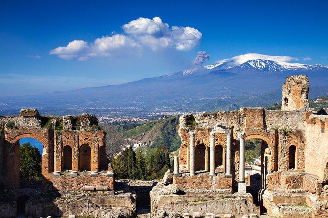 Mt. Etna and Taormina