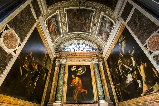 Caravaggio's Art and Life Private Guided Tour with Hotel Pick-up by Marco