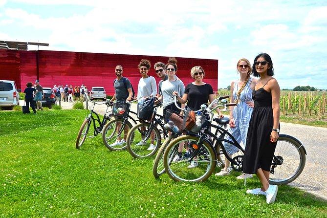 Excursion of Saint-Emilion by bike.