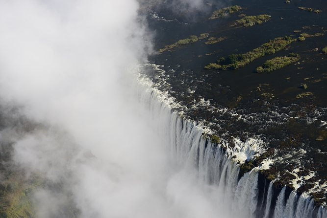 Helicopter Ride above the Falls