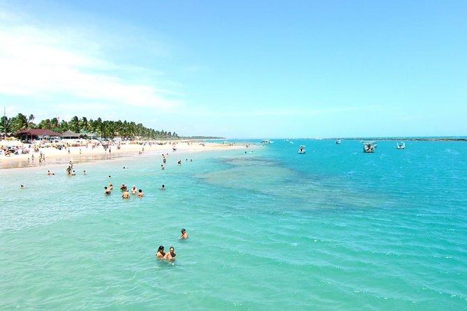 Praia do Francês na Costa Sul com excursão pela cidade de Maceió
