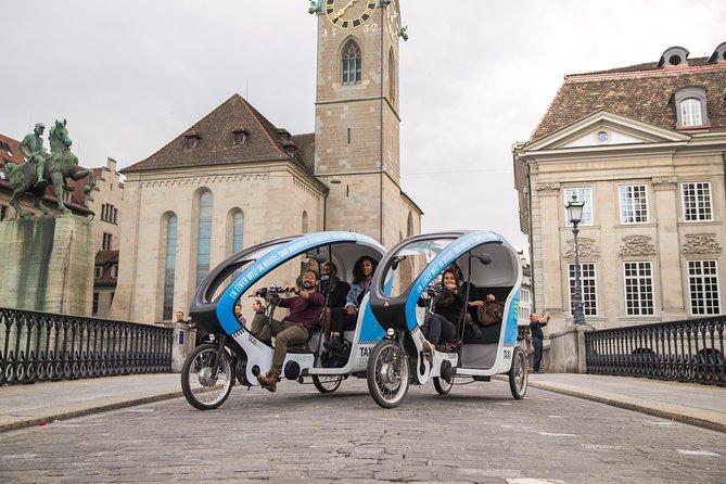 Chocolate Tour in a TaxiBike: Zürich