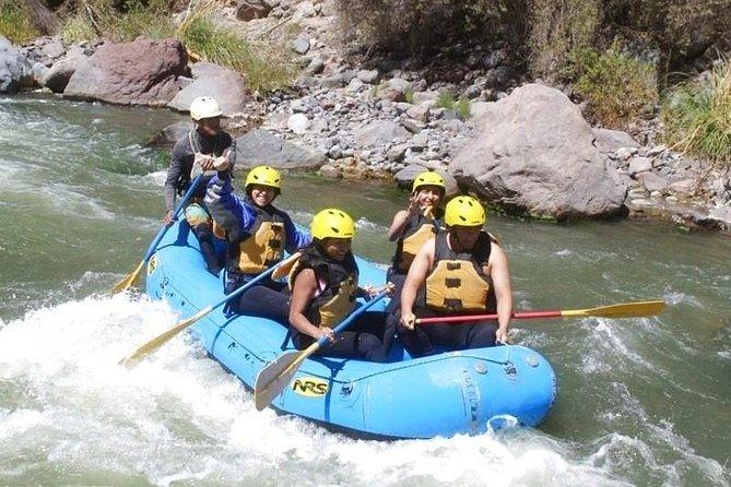 Arequipa: Rafting + Ziplining Half Day