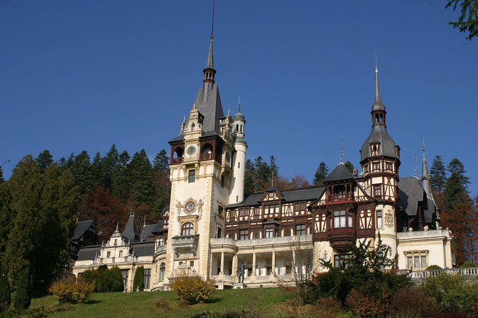 Transylvania day in Italian, Peles, Dracula Castle tour