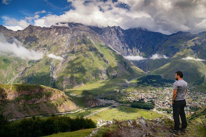 ツ ✌ Kazbegi Tour – Caucasus Mountains! Ananuri Fortess, Gudauri Skii Resort