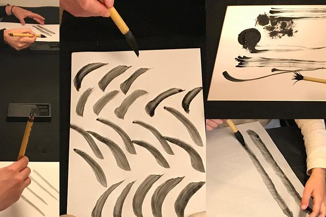 Artistic Calligraphy Course in Tokyo