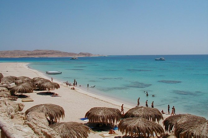 Paradise Island Sea Trip and Floating Aqua park - Hurghada