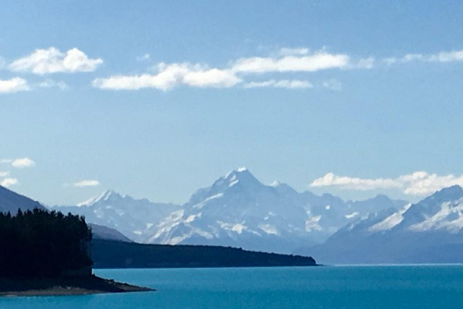 Aoraki Mt Cook x CHCH via Lakes Tekapo & Pukaki - private day tour 2 - 4 ppl