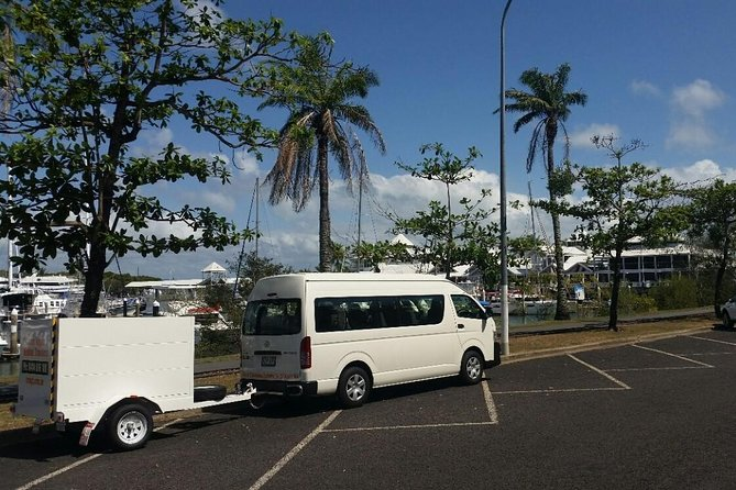 Safe Private Transfer from Port Douglas to Cairns for up to 13 people