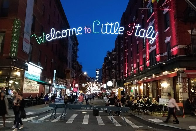 Night Time Nyc Walking Tour Wtc Brooklyn Bridge Chinatown Little Italy 2020 New York City