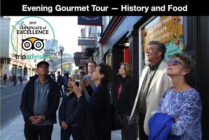 Evening Gourmet Tour 5 Course Dinner in Quebec City