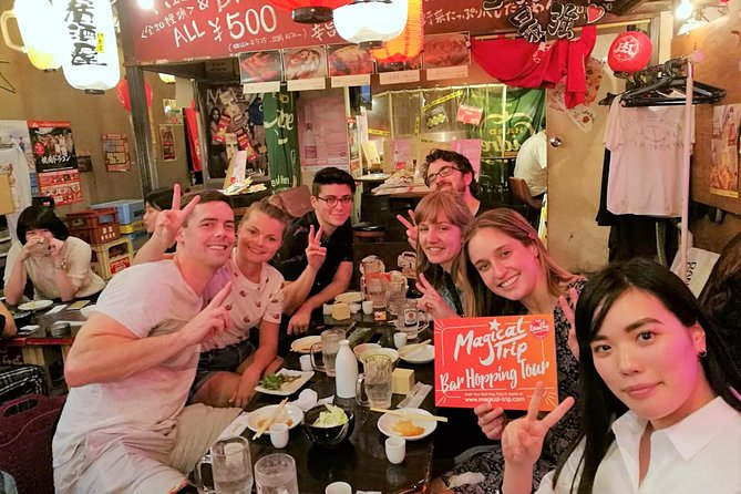 Shibuya Bar Hopping Night Food Walking Tour in Tokyo