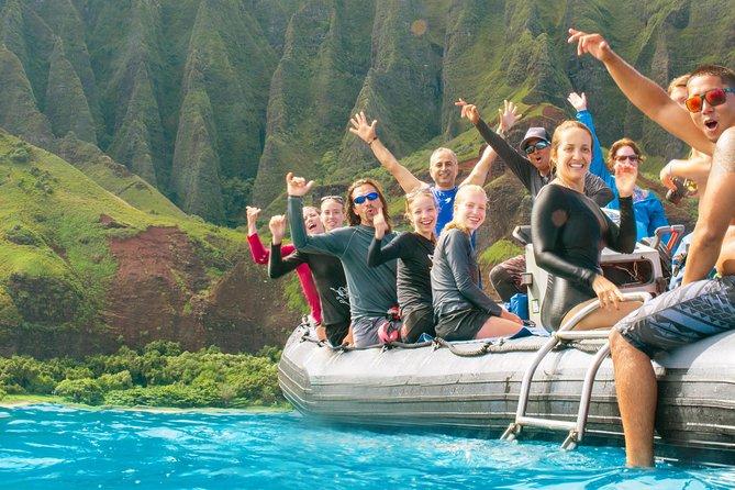 RAFT ADVENTURE - Na Pali 1/2 Day Snorkel