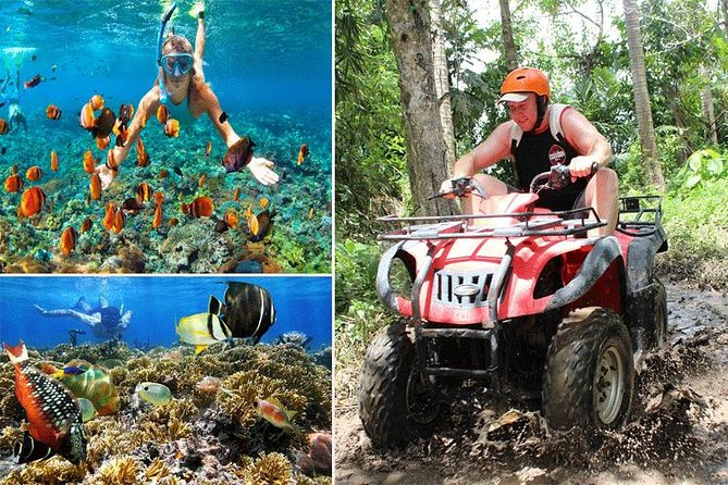 Quad Bike Ride with Snorkeling at Blue Lagoon Beach