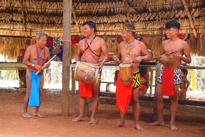 Embera indigenous community visit (private)
