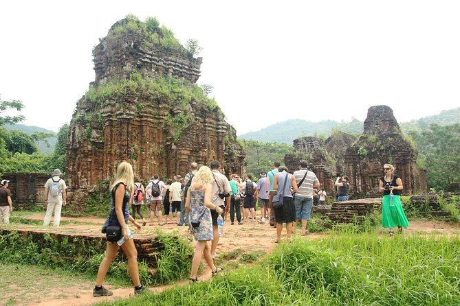 My Son Sanctuary Group Tour From Hoi An Ancient Town - Bus and Boat