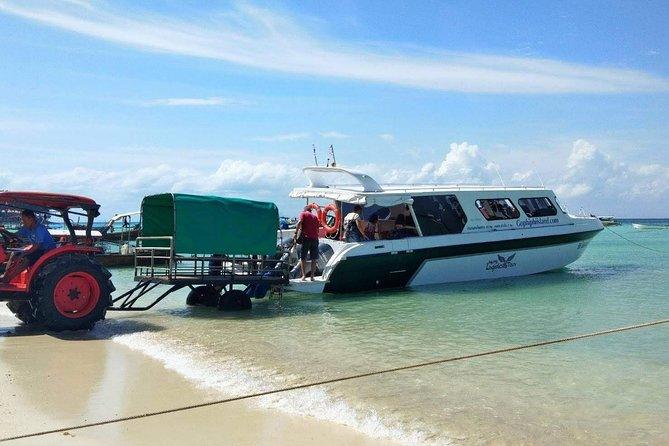 Koh Phi Phi to Phuket VIP Speed Boat Transfer with Hotel or Airport Drop-Off