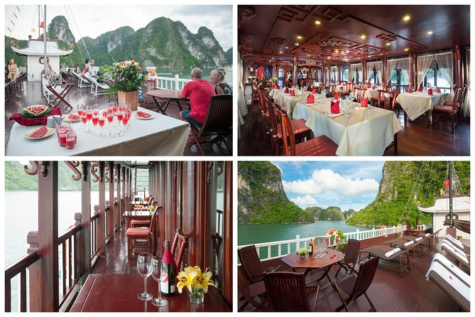 Experience Fantastic Halong Bay Tour 2 Days - kayak, swim, cave, taichi...