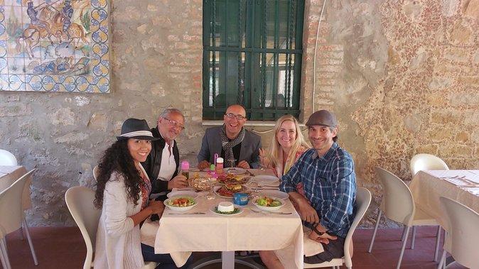 Savoring Sicilian food