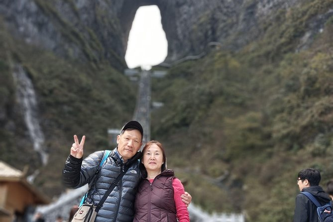 Tianmen Mountain With the Skywalk & Drop off at Fenghuang Private Day Tour