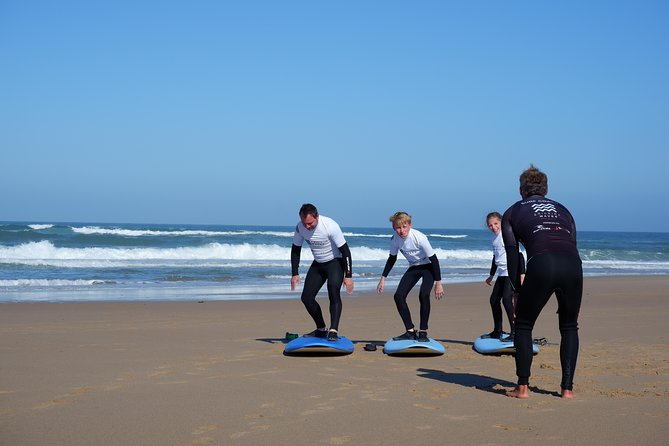 Beginners, intermediate and advanced surf lessons