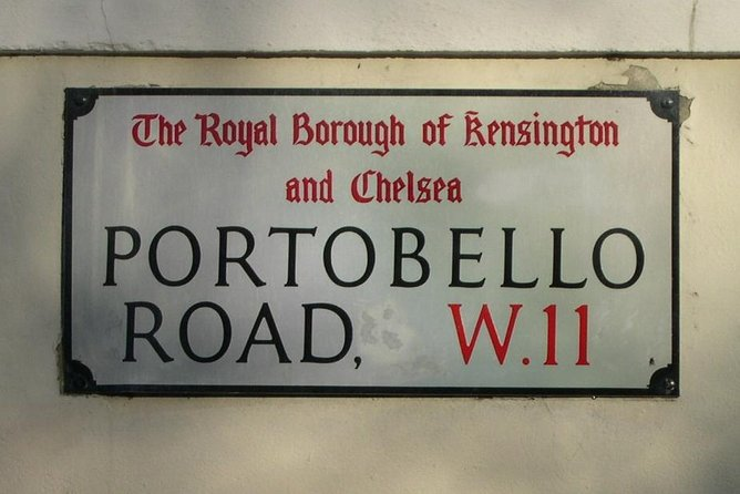 London: Notting Hill and Portobello Road Street Food Tour With A Local Guide