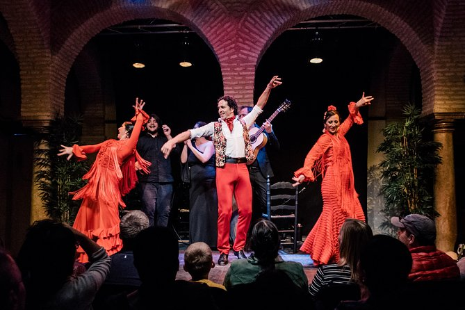 Museo del Baile Flamenco Show with Optional Museum ticket