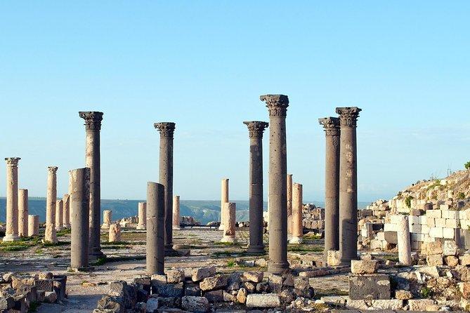 Full Day Tour : Jerash, Ajloun, Umm Qais