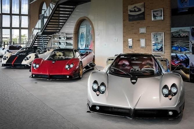 Pagani Museum And Factory Tour With Lunch
