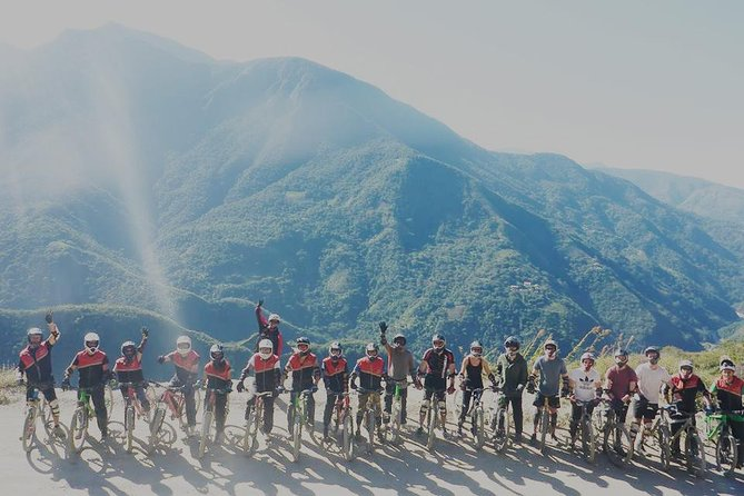 Death Road Biking - DOUBLE SUSPENSION BIKE (SHARED TOUR)