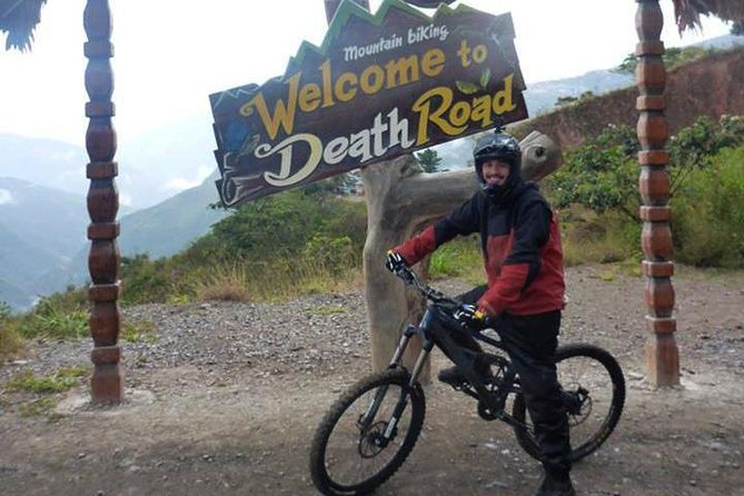 Death Road Biking - DOUBLE SUSPENSION BIKE (SHARED TOUR)