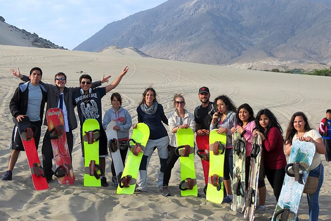 Sandboarding in Conache Lake and Show of Peruvian Paso Horse photo 8