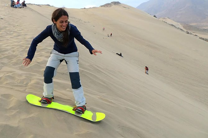 Sandboarding in Conache Lake and Show of Peruvian Paso Horse photo 4