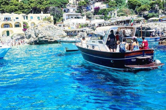 Capri Boat Experience And Walking