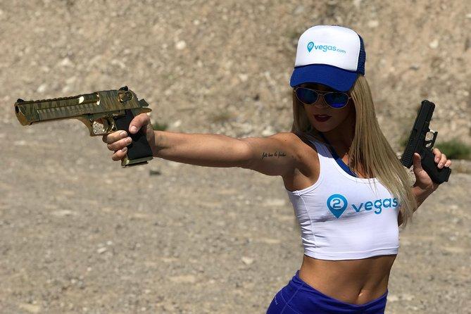 Machine Gun Shoot in Vegas