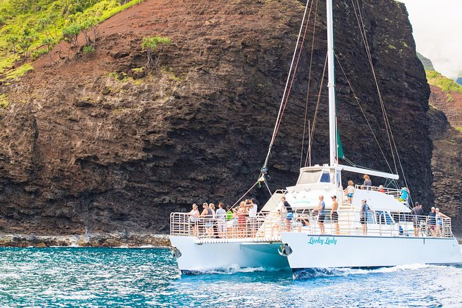 LUCKY LADY - Deluxe Na Pali Sunset Snorkel Cruise