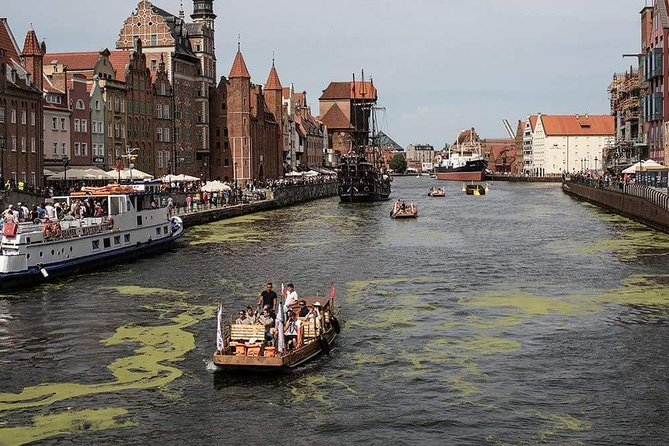 Gdansk Guided City Cruise on Historical Polish Boat