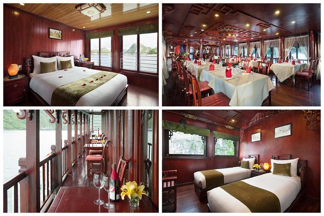 Halong Royal Palace Cruise | 2 Days Unique Exprience from Hanoi