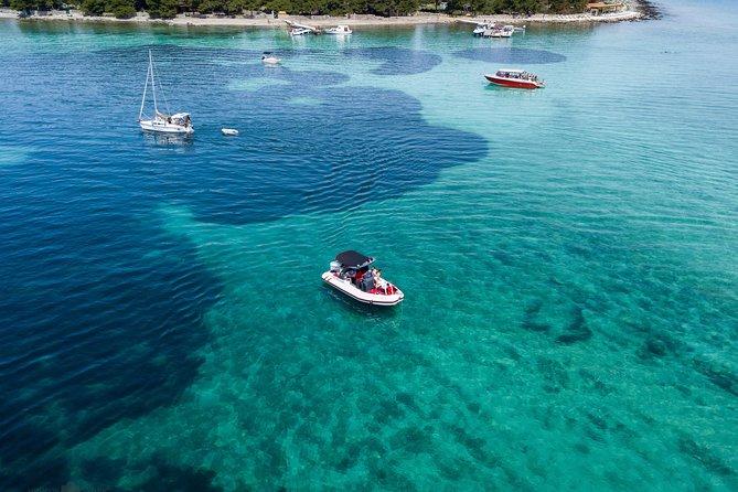 Blue lagoon&Trogir tour from Split by speedboat