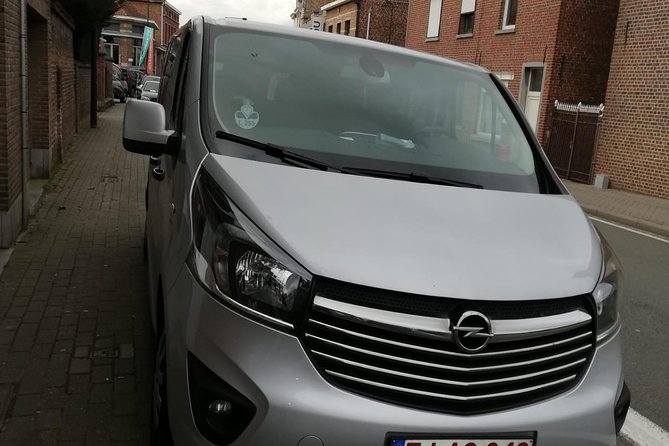 Standard Minivan from Brussels airport to city of Bruges