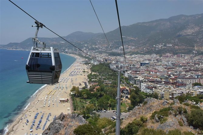 Alanya City Tour with Cable Car , Castle and I Love Alanya Panorama