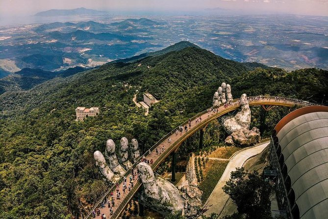 Private Golden Bridge and Ba Na Hills from Danang City
