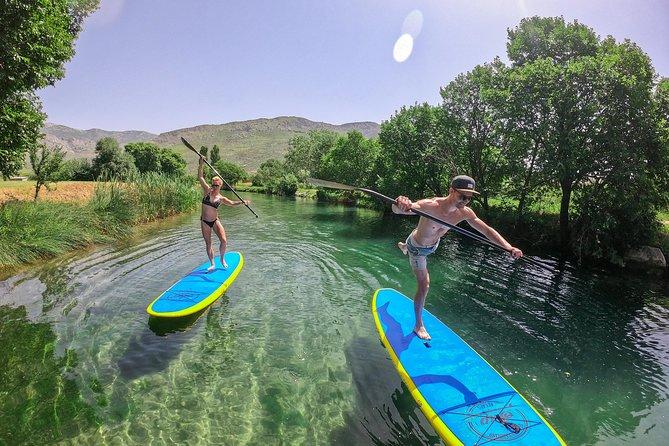 Stand Up Paddle Adriatic Sea Adventure